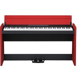 KORG Piano Digital 88 Keys [LP 380] - Black Red - Digital Piano